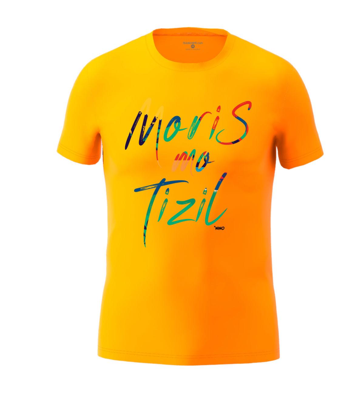 Men's Moris Mo Tizil T-shirt Light Orange
