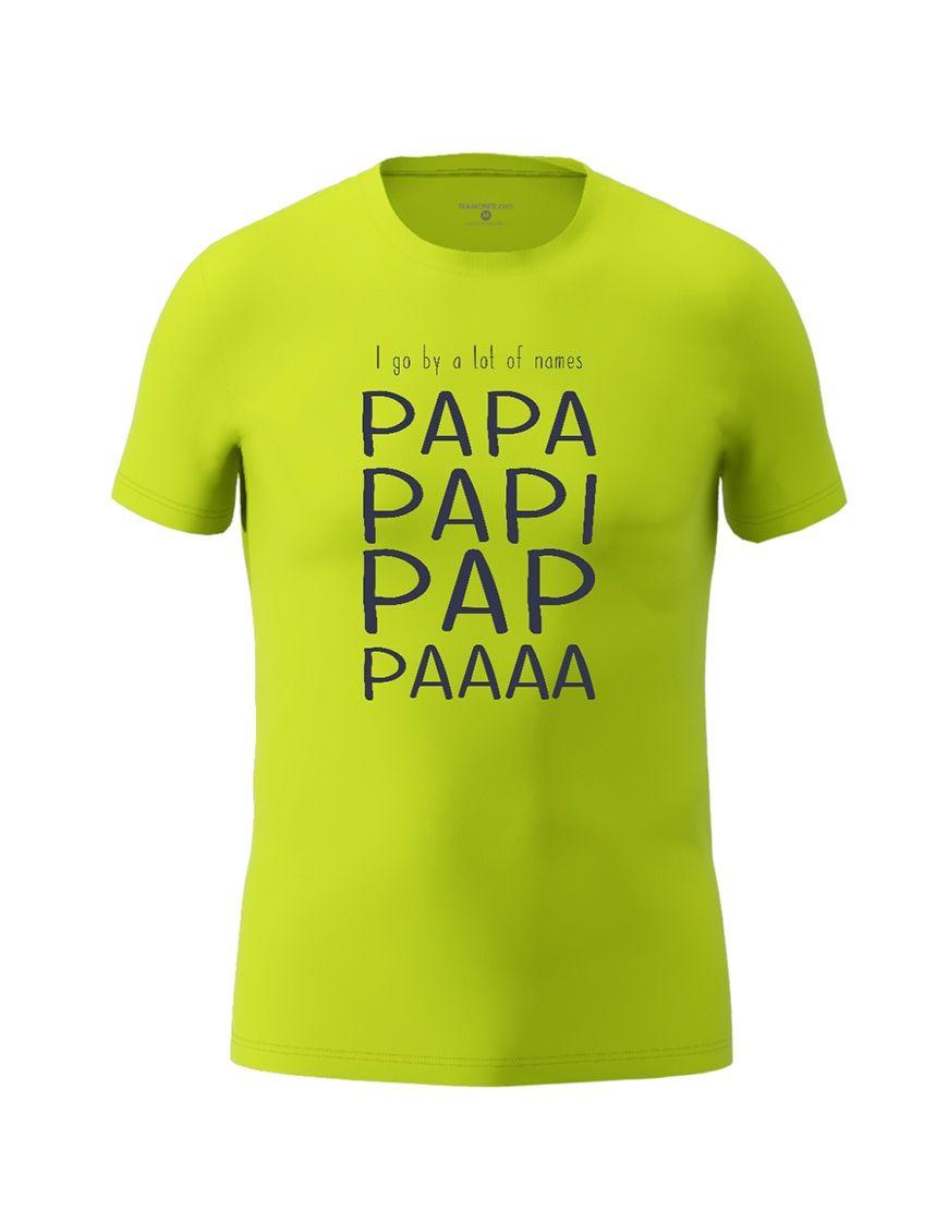 papa nicknames t shirt
