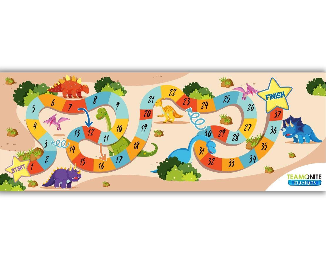 Dino Quest playmat