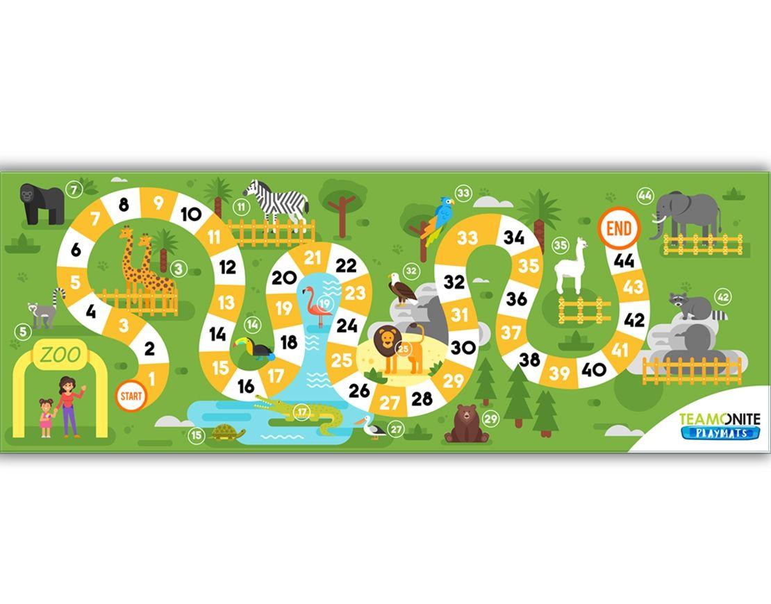 Playmats Zoo Venture