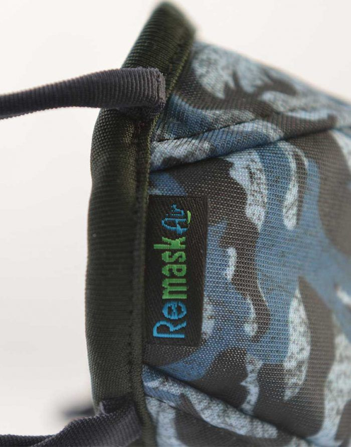 Remask Air Camo Blues