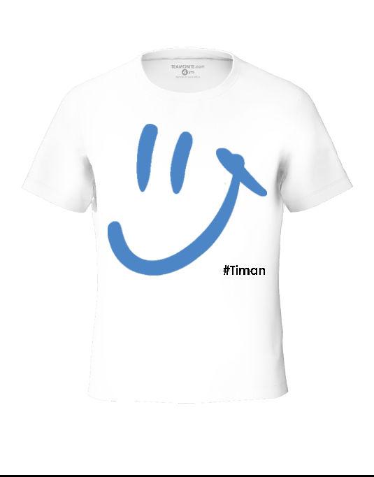 Tween's Blue Luna White T-Shirt 3D