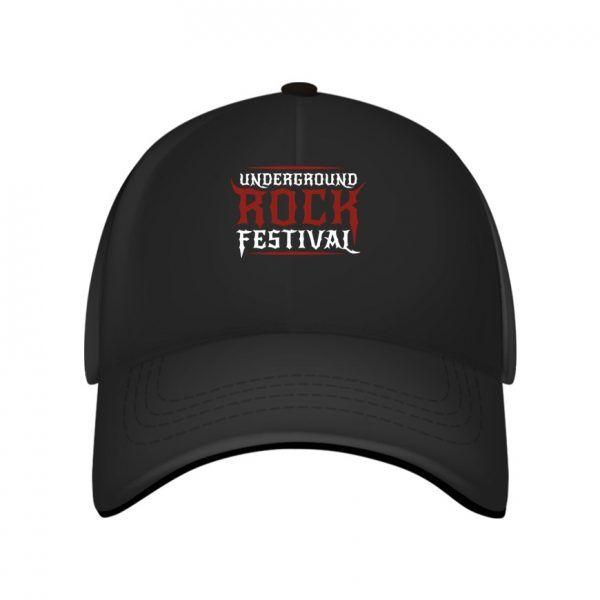 Underground rock festival caps