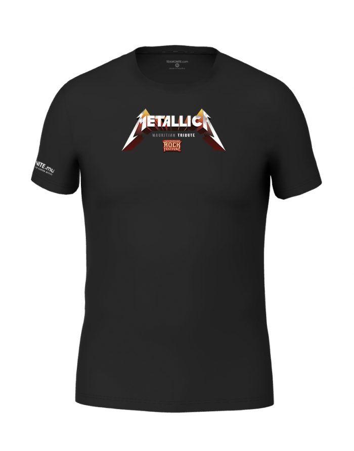 Metallica Mauritian Tribute Black T-shirt
