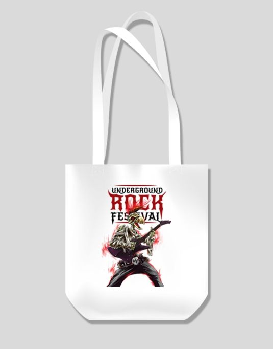 Underground Rock Festival tote bag