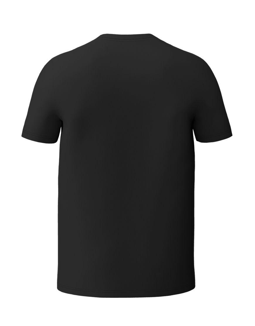unisex classic t shirt 3d black back