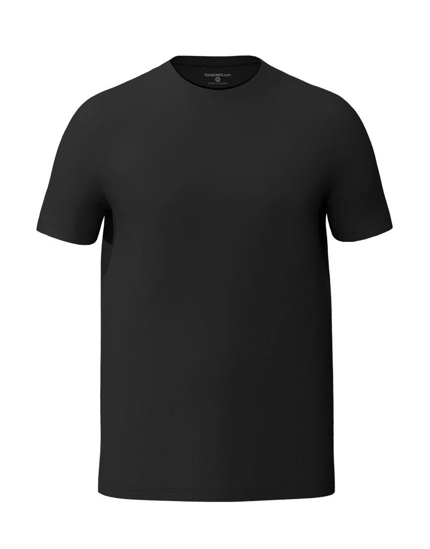 unisex classic t shirt 3d black