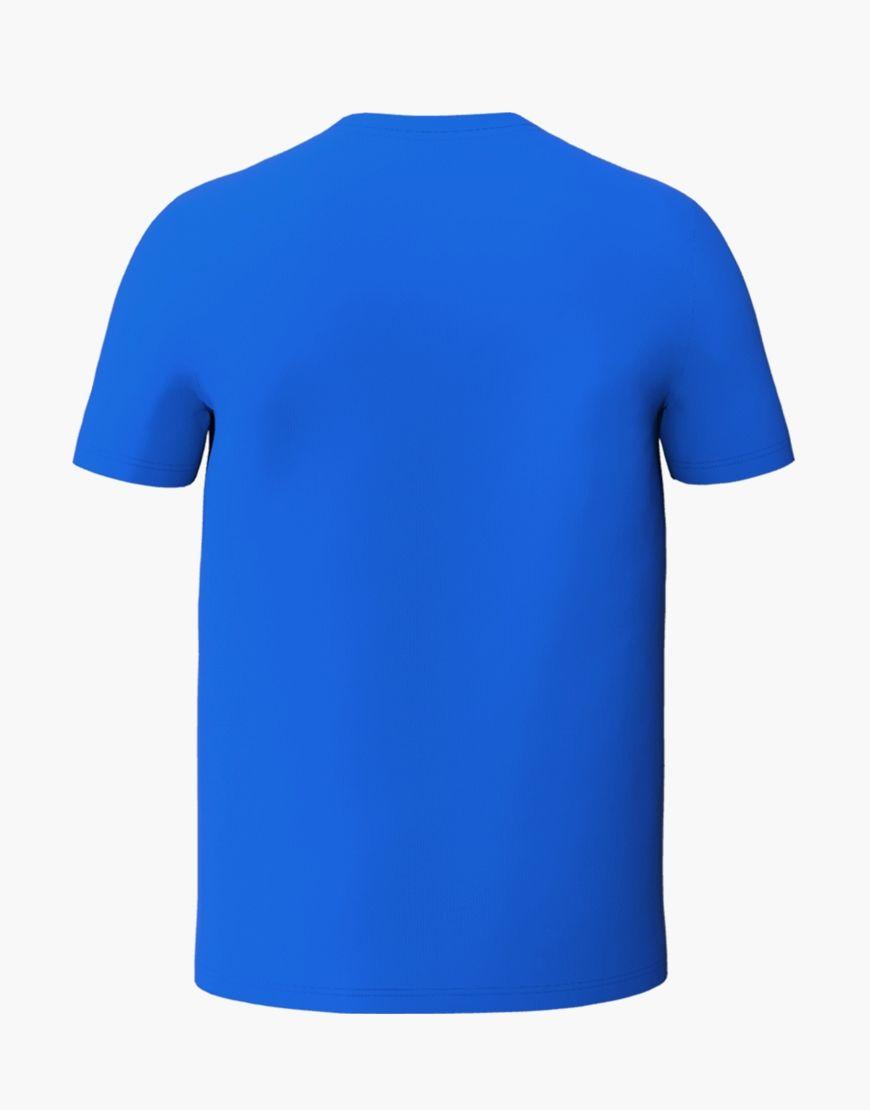 unisex classic t shirt 3d blue back