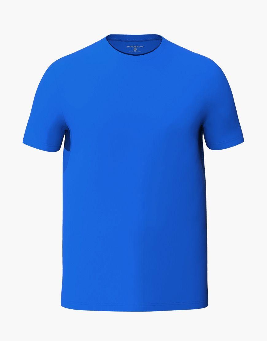 unisex classic t shirt 3d blue