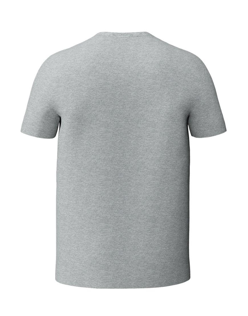 unisex classic t shirt 3d grey back