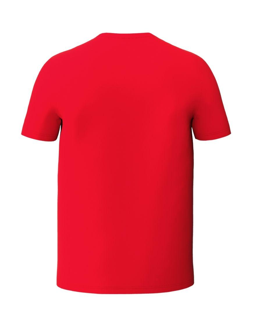 unisex classic t shirt 3d red back