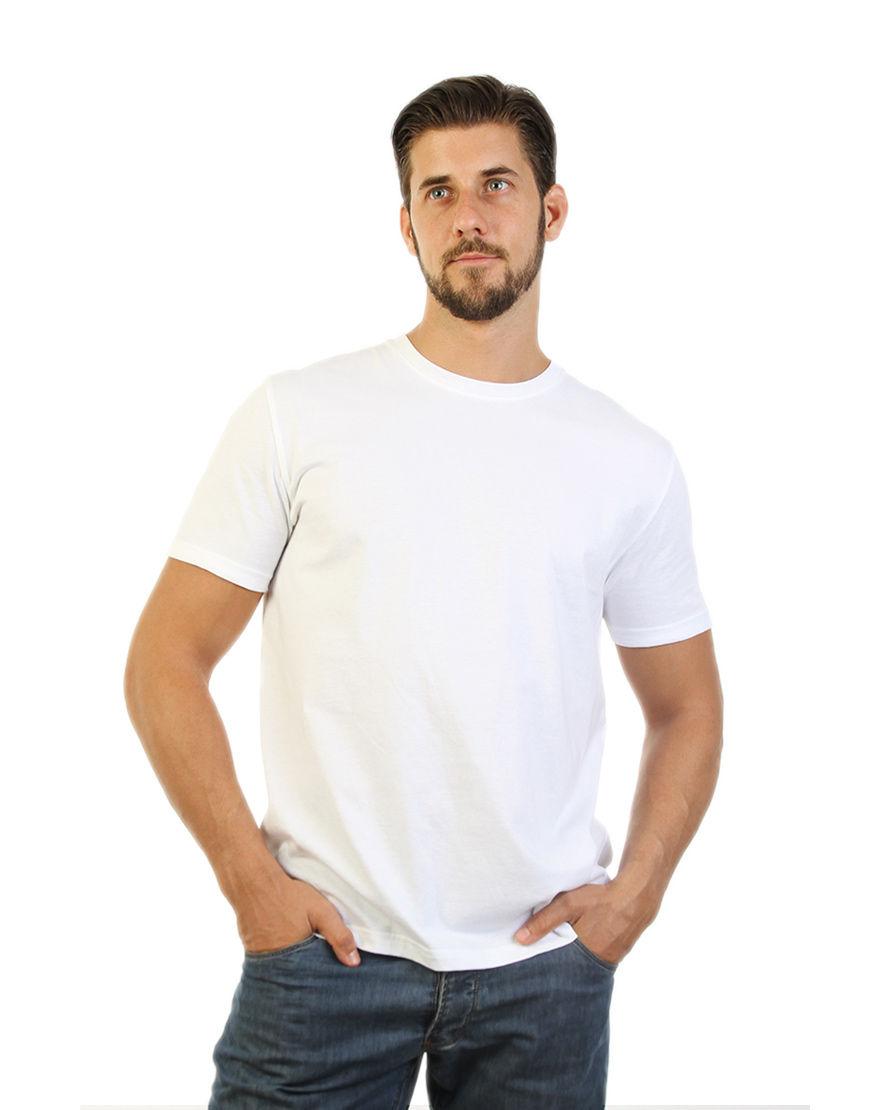 unisex classic t shirt white men