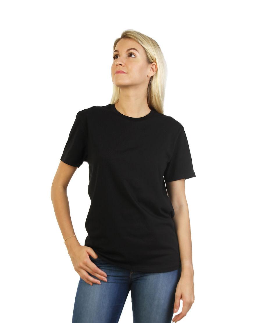 unisex classic t shirt women black