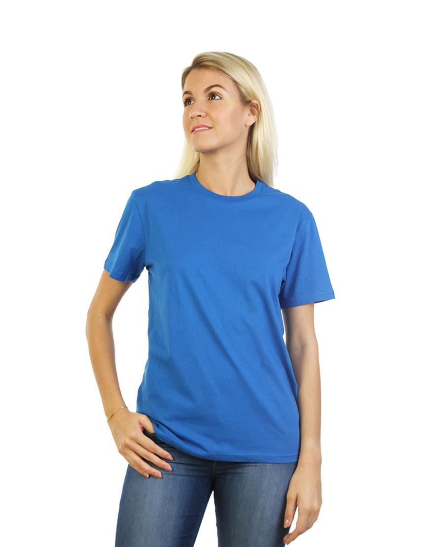 unisex classic t shirt women blue