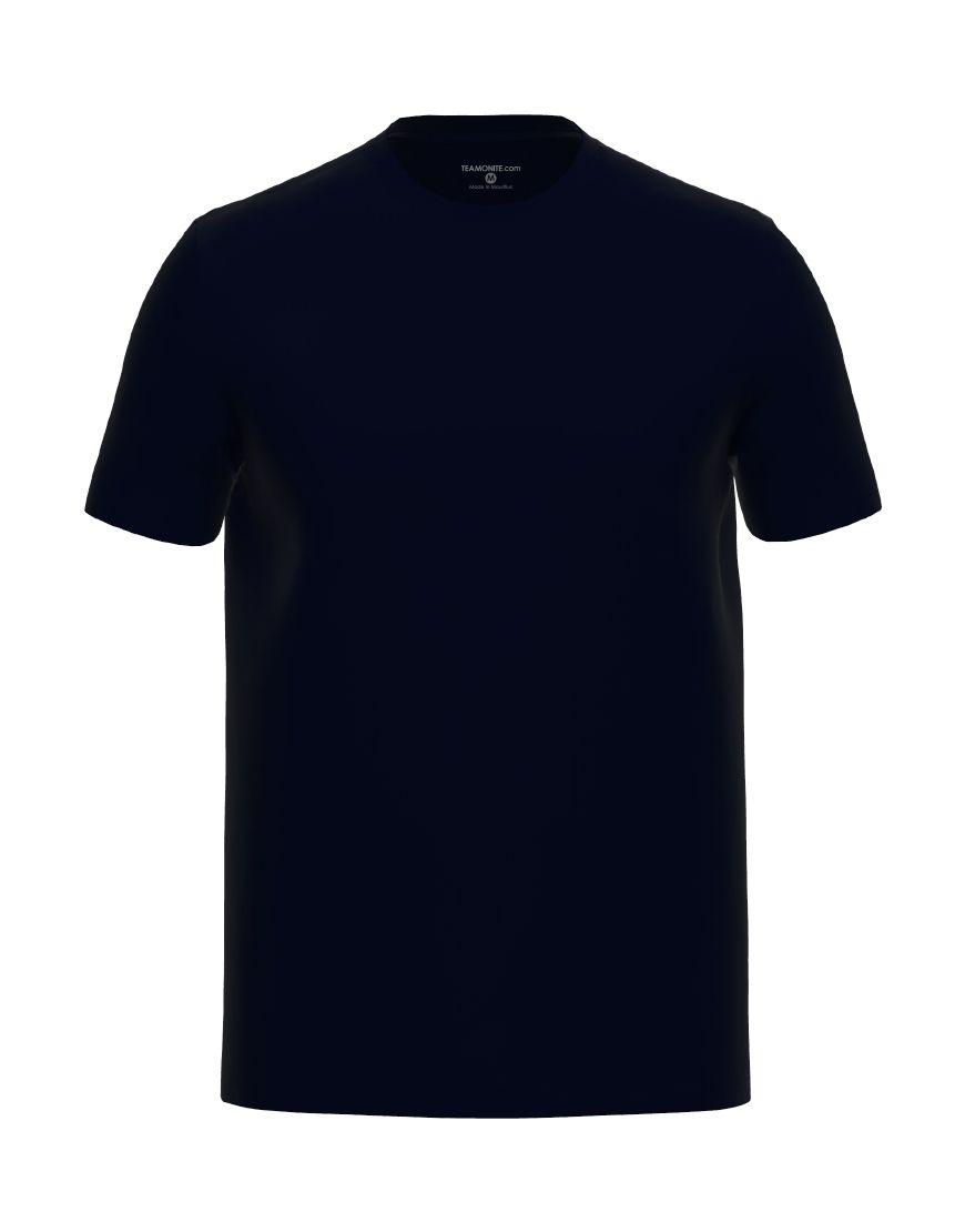 unisex cotton t shirt 3d navy