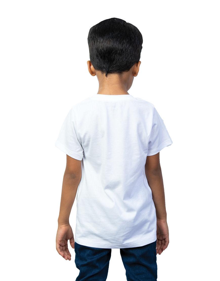 unisex kids t shirt boy back