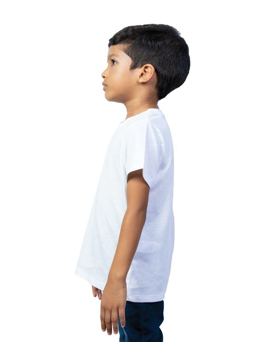 unisex kids t shirt boy side