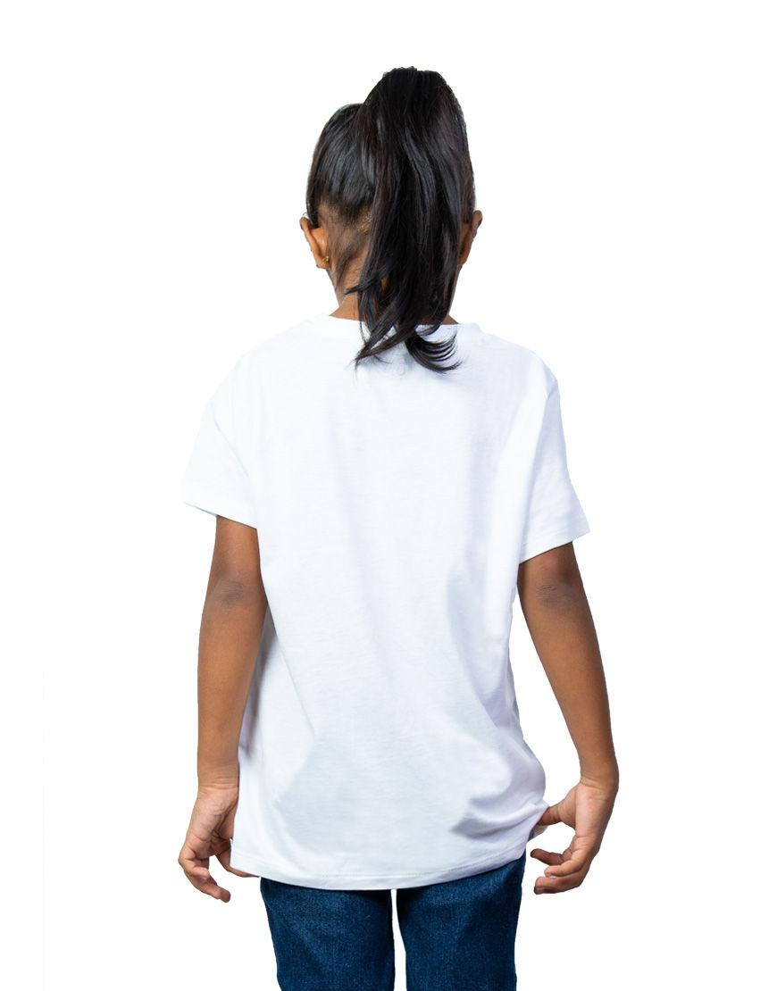 unisex kids t shirt girl back