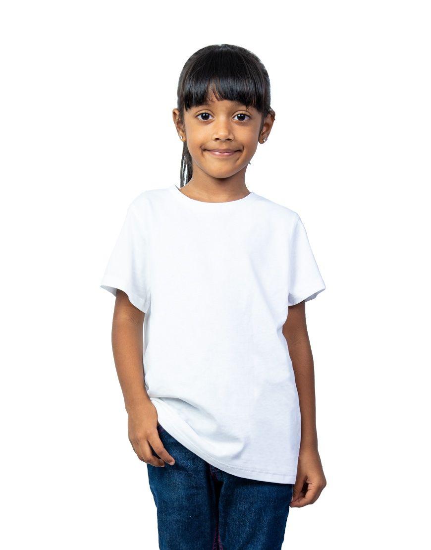 unisex kids t shirt girl front