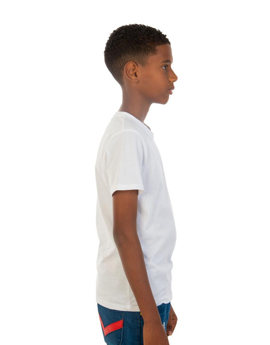 unisex tweens t shirt boy side