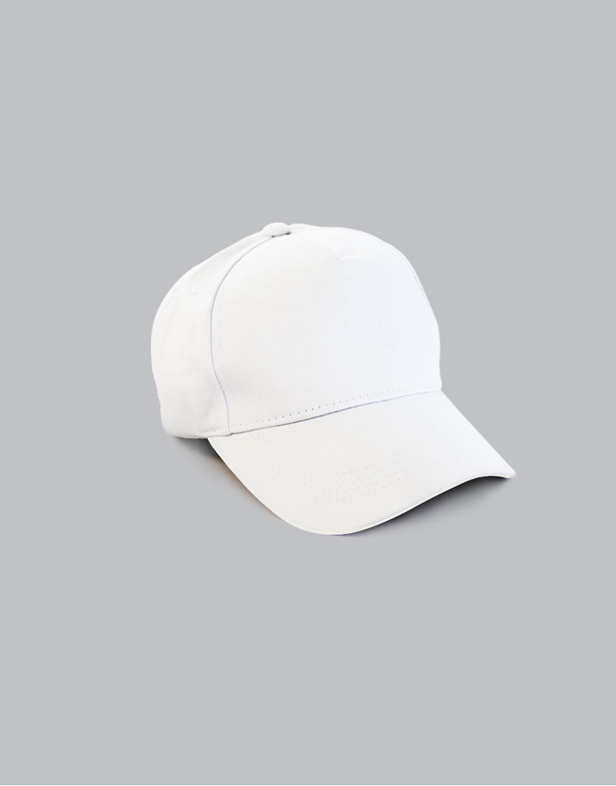 white cap front