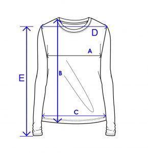 women long sleeve t shirt