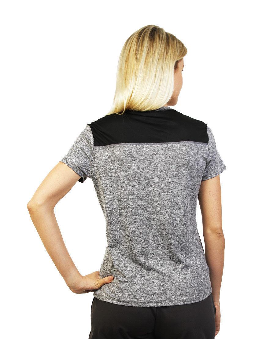 women performance t shirt back