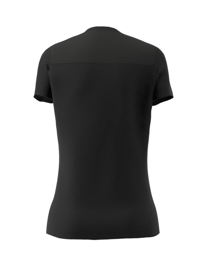 womens active fit 3d tee black back