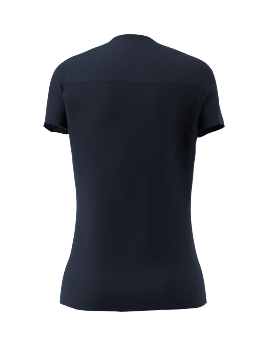 womens active fit 3d tee navy back