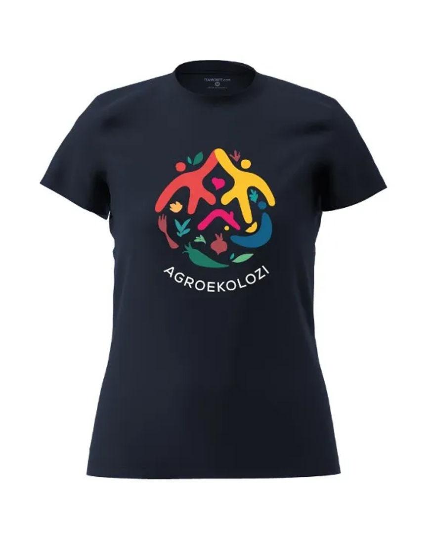 womens agroekolozi t shirt