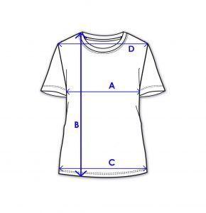womens poly cotton stretch t shirt
