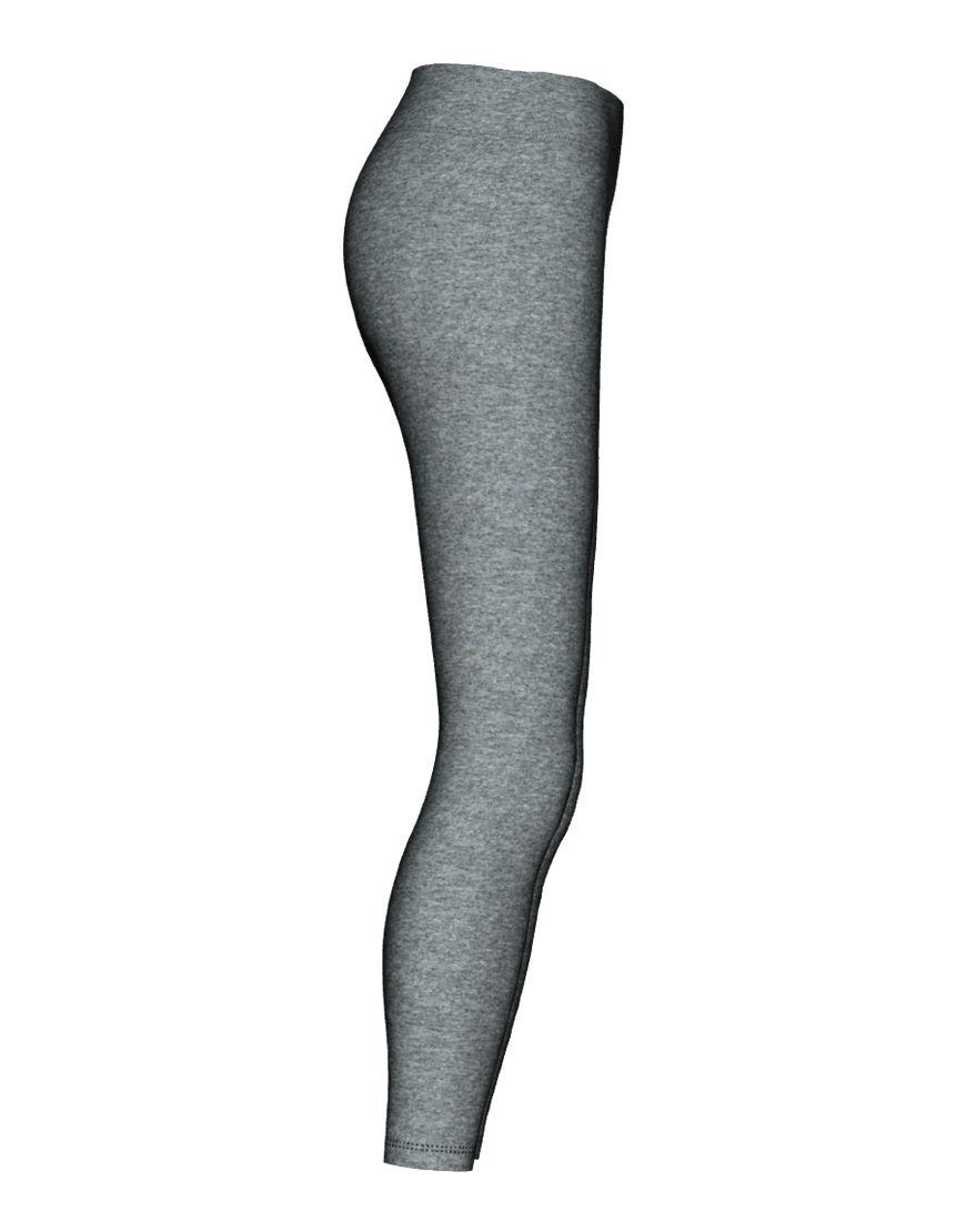 womens sports leggings 3d grey