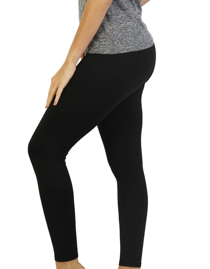 womens sports leggings black left