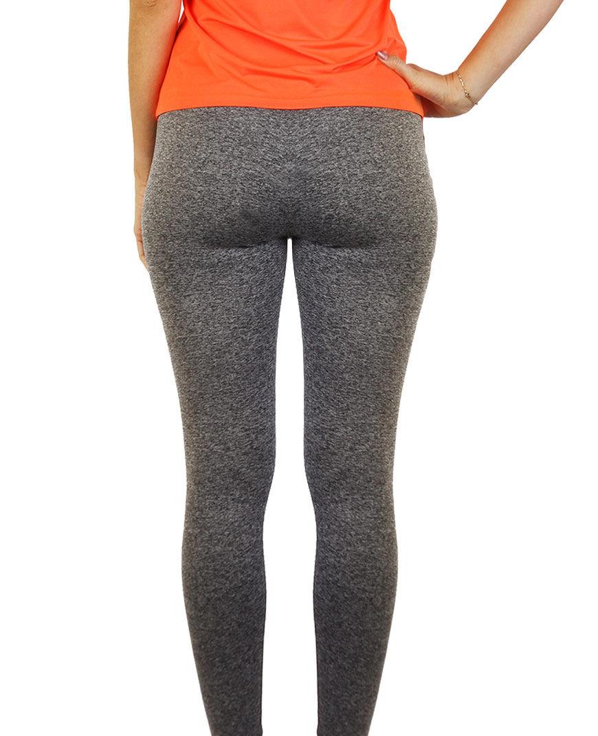 womens sports leggings grey back