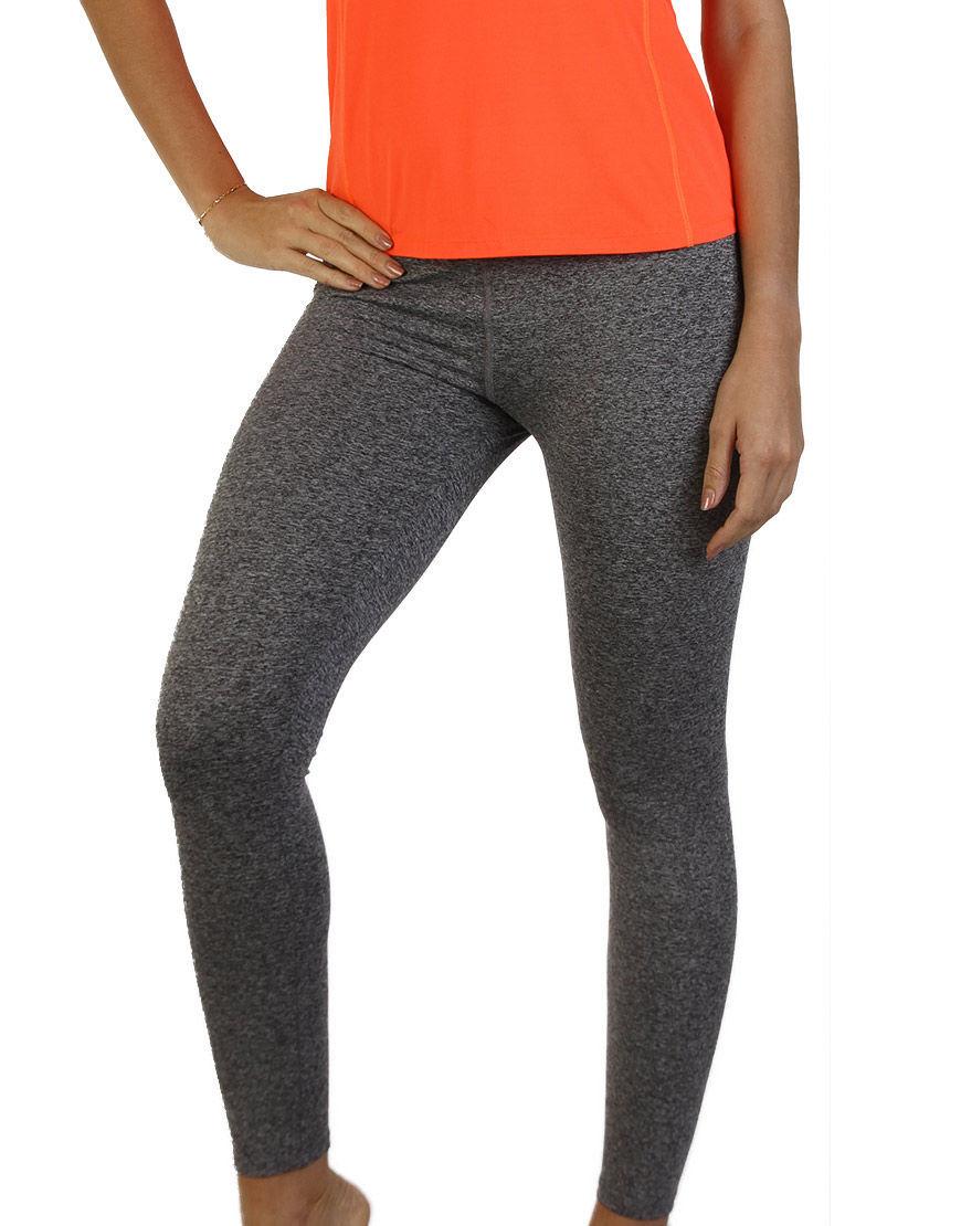 womens sports leggings grey front