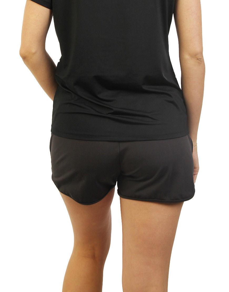 womens sports short back