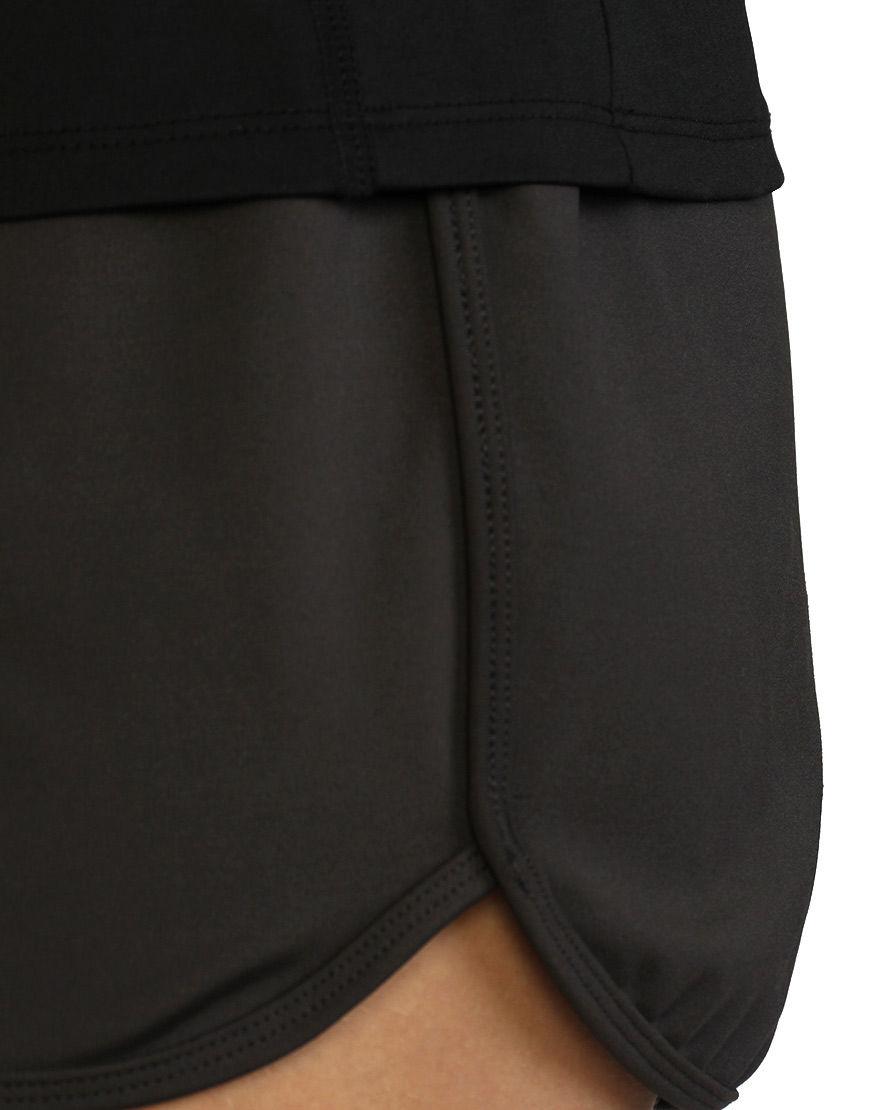 womens sports short close up