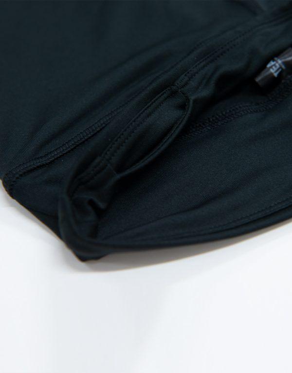 Black leggings close up
