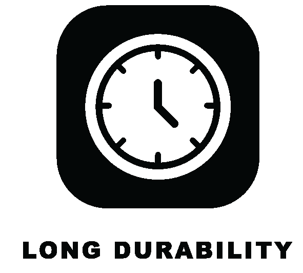 long durability clothing icon