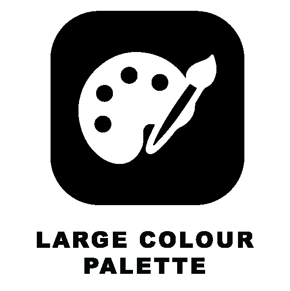 colour palette icon
