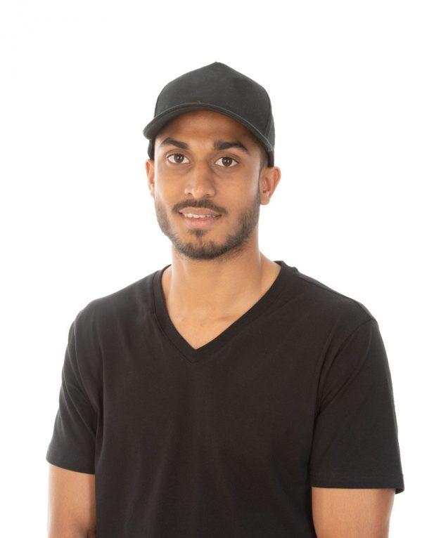 Custom black Cap Mauritius