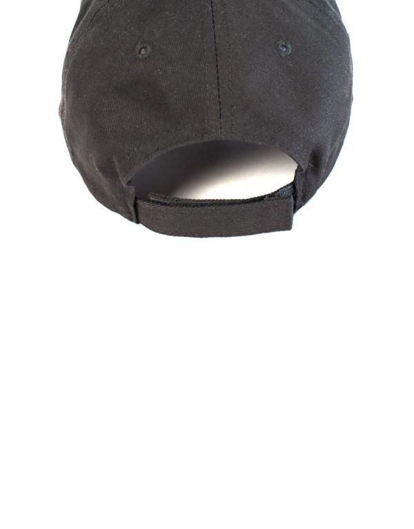 Black custom cap