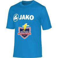 Jako Promo Functioneel T-Shirt Kinderen - Jako Blauw