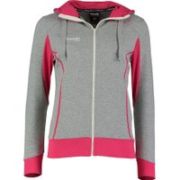Reece Kate Hooded Sweat Full Zip Dames - Grijs / Roze