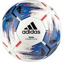 Adidas Team Competition Wedstrijdbal - Wit / Royal