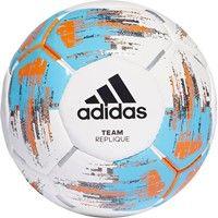 Adidas Team Replique Wedstrijd/trainingsbal - Wit / Cyaan / Oranje