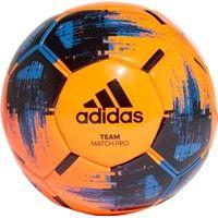 Adidas Team Match Winter Wedstrijdbal - Fluo Oranje / Zwart / Blauw