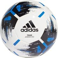 Adidas Team J350 Lightbal - Wit / Zwart / Blauw
