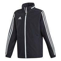 Adidas Tiro 19 Regenjas Kinderen - Zwart / Wit