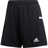 Adidas Team 19 Short Dames - Zwart / Wit